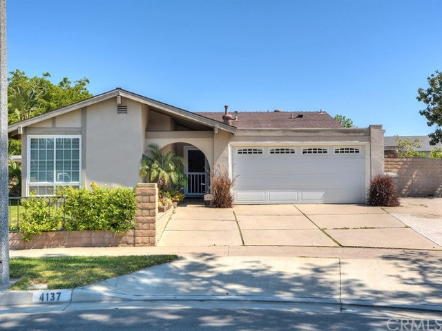 Appraisal came in at $615,000..Hard to find single level home in Private Cul De Sac.Lovely 3 bedroom 2 bathroom home.Lots of recent updates including New Kitchen with Granite counters and Laminate floors.Kitchen has lots of cabinets and stainless appliances and sinks.Large family room that flows into dining area.Dual pane windows look great.Both bathrooms have been updated.Master has Mirrored closet.Recessed lighting accents the open kitchen,dining area and living room.Nice backyard is great for BBQ  and get togethers.Property has copper plumbing,tankless water heater and soft water system,also has reverse osmosis.Close to freeways and shopping.This is a must see..