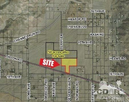 Land for Sale at Dillon Rd Dillon Rd Sky Valley, California 92241 United States