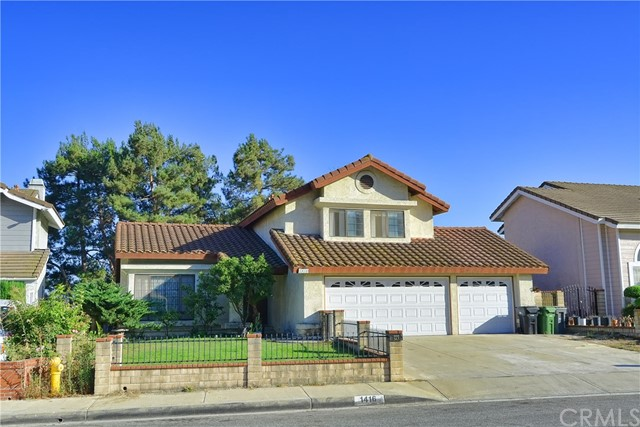 1416 Valeview Drive Diamond Bar, CA 91765 - MLS #: TR18092072