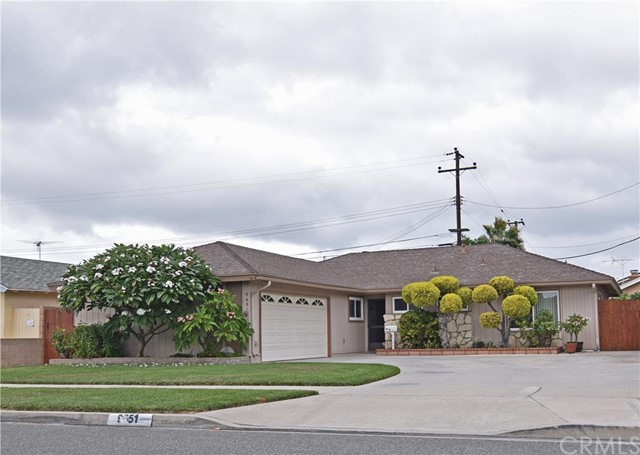Single Family Home for Sale at 9651 Cardinal St Westminster, California 92683 United States