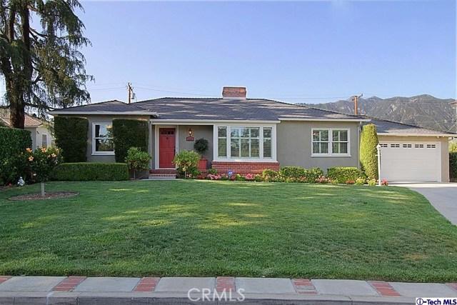 Single Family Home for Sale at 2665 Las Lunas Street Pasadena, California 91107 United States