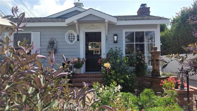 581 Brooks Street, Laguna Beach, CA 92651