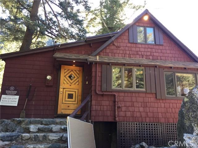 Single Family Home for Sale at 7 San Antonio 7 San Antonio Mt Baldy, California 91759 United States