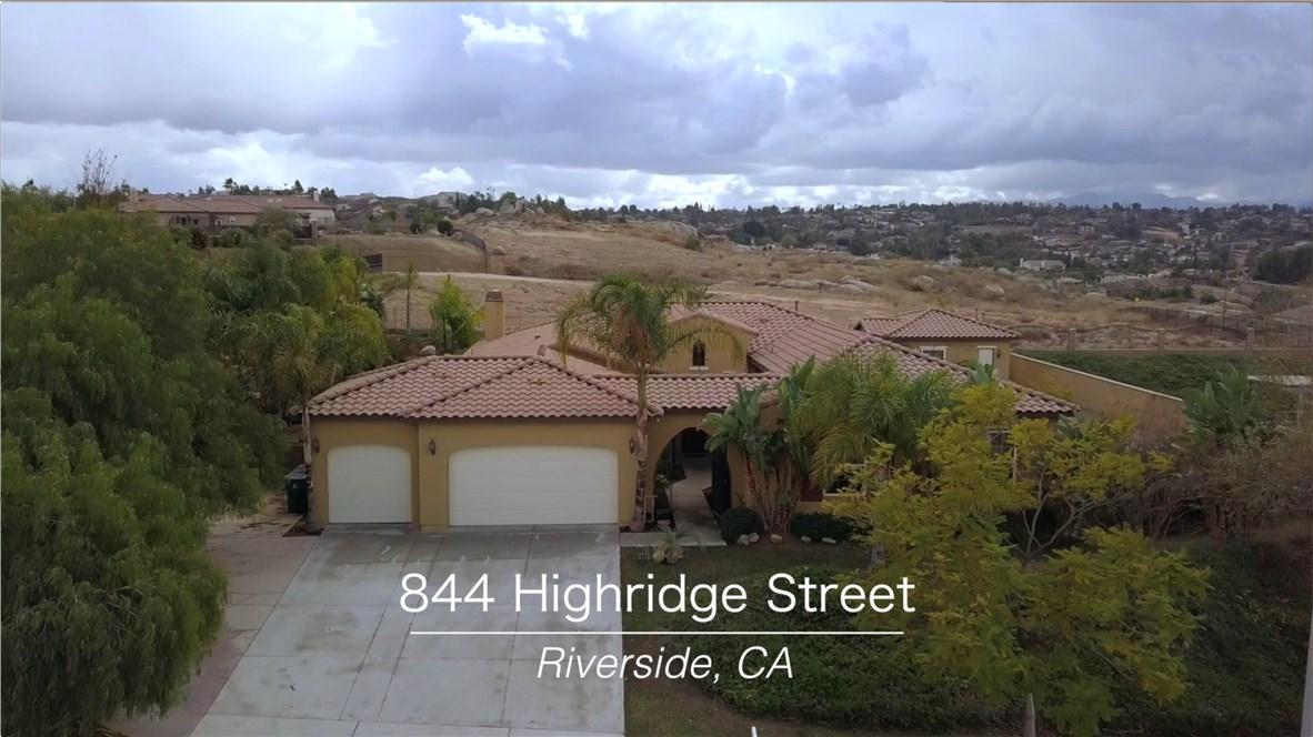844 Highridge Street Riverside, CA 92506 - MLS #: IV17251483