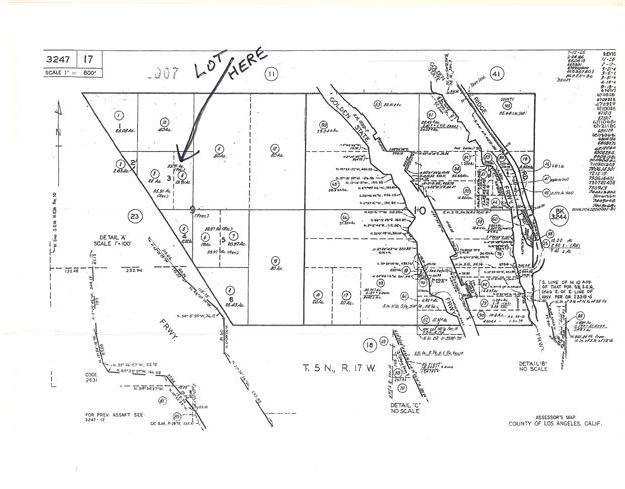 0 RIDGE ROUTE Castaic, CA 91384 - MLS #: PA201130197