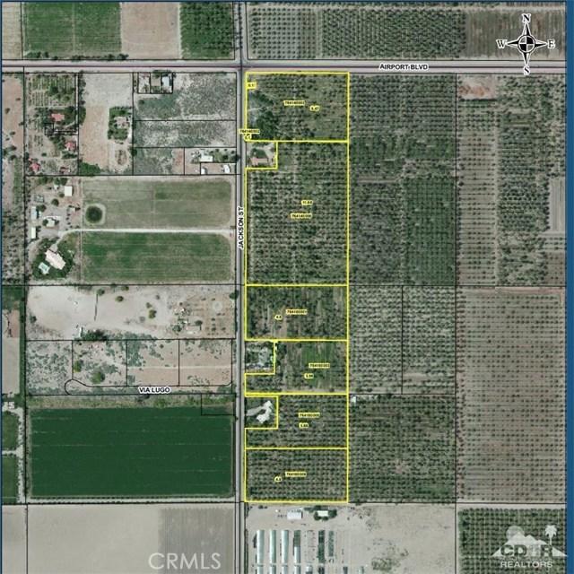5 E Jackson & S Airport Thermal, CA 92274 - MLS #: 218014286DA
