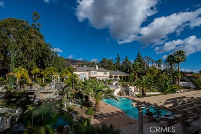 Single Family Home for Sale at 515 Deodar Lane Bradbury, California 91008 United States