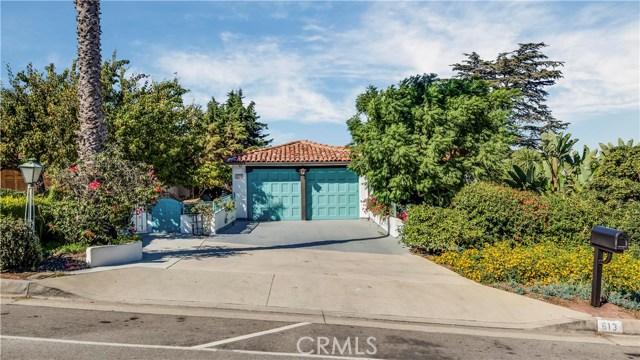 613 Via Del Monte, Palos Verdes Estates, CA 90274