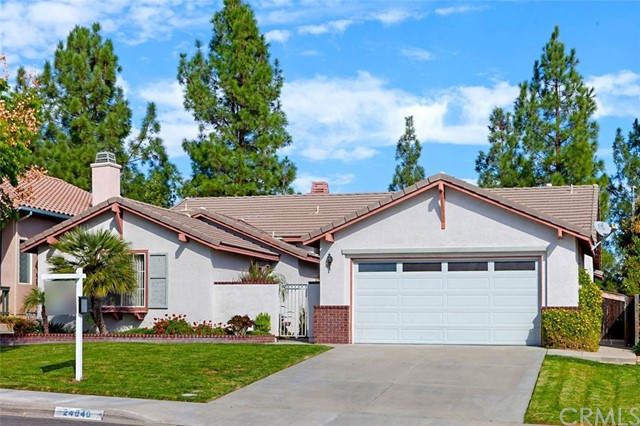 Detail Gallery Image 1 of 29 For 24040 Ristras Ln, Murrieta, CA 92562 - 4 Beds | 2 Baths