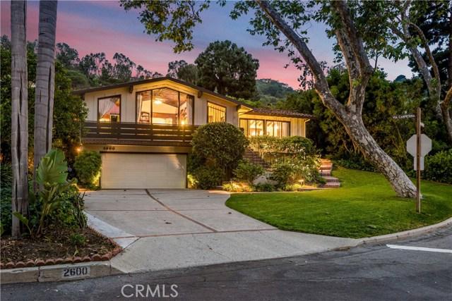 2600 Via Campesina Palos Verdes Estates, CA 90274 - MLS #: PV17126362