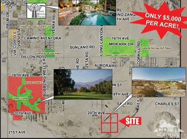 Photo of home for sale at 69041 Long Canyon Road, Sky Valley CA