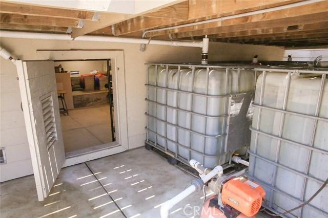 1650 gallon rain capture storage system that is pl