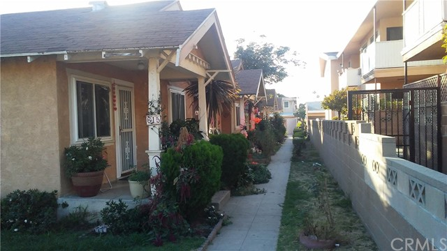 Residential Income for Sale at 615 Grevillea Avenue Unit Abcd 615 S Grevillea Avenue Inglewood, California 90301 United States