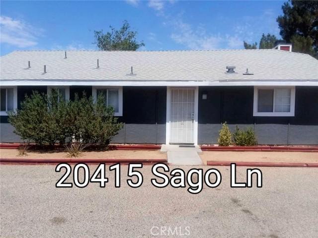 20415 Sago Lane Apple Valley CA 92307
