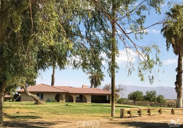 Avenue 60 Thermal, CA 92274 - MLS #: 217023410DA