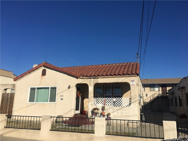 Residential Income for Sale at 672 W 14th Street 672 W 14th Street San Pedro, California 90731 United States