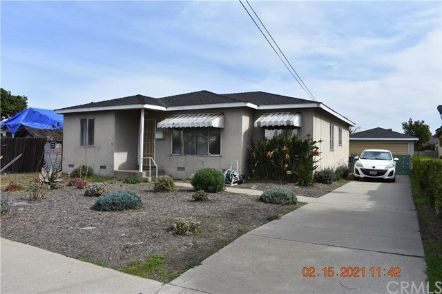 Detail Gallery Image 1 of 1 For 14538 S Budlong Ave, Gardena,  CA 90247 - 3 Beds   1 Baths