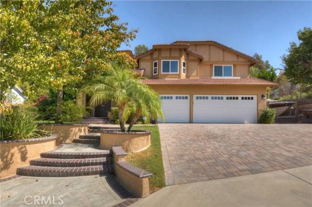 Single Family Home for Sale at 4720 Blue Mountain Drive Yorba Linda, California 92887 United States