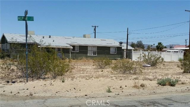 0 Sunnyvale Dr 29 Palms, CA 92277 - MLS #: JT17135797