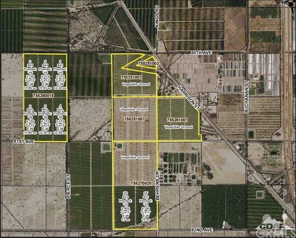 Land for Sale at Avenue 80 Thermal, 92274 United States