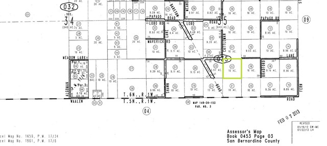 0 Cummings Road Lucerne Valley, CA 92356 - MLS #: EV18048674