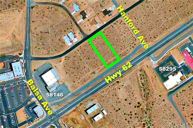 0 Hwy 62 Yucca Valley, CA 92284 - MLS #: IV18056451
