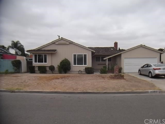 Single Family Home for Sale at 12071 Cliffwood St Garden Grove, California 92840 United States