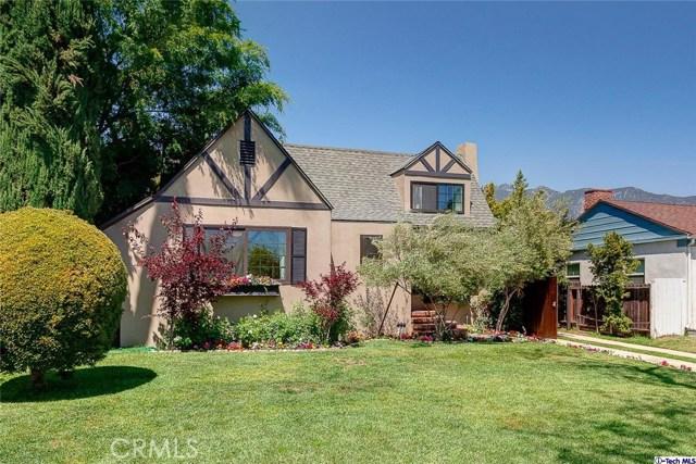 Single Family Home for Sale at 2325 Paloma Street Pasadena, California 91104 United States