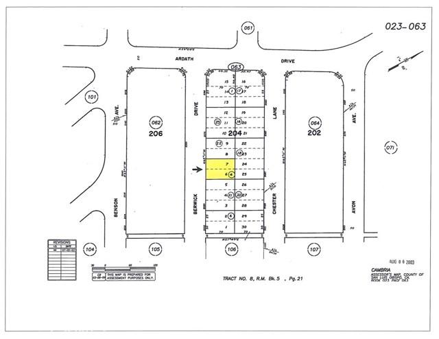 0 Berwick Drive Cambria, CA 0 - MLS #: SC18028197