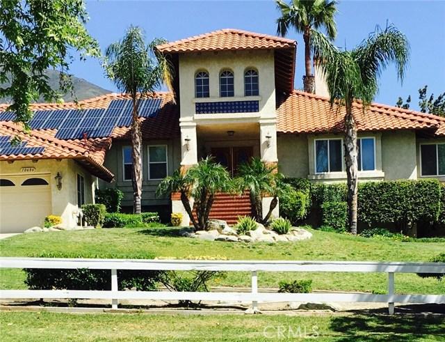 Casa Unifamiliar por un Venta en 10686 Deer Canyon Drive Alta Loma, California 91737 Estados Unidos