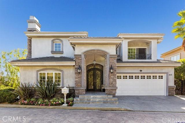 Single Family Home for Sale at 1515 La Vista Terrace 1515 La Vista Terrace Glendale, California 91208 United States