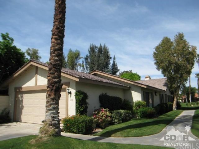 Photo of home for sale at 338 Villena Way, Palm Desert CA