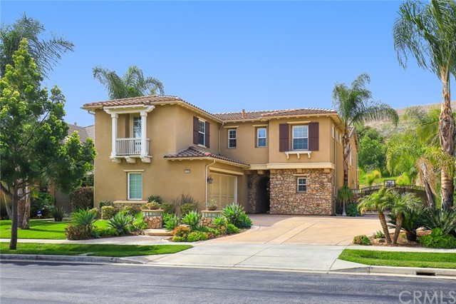 Photo of home for sale at 15197 Canon Lane, Chino Hills CA