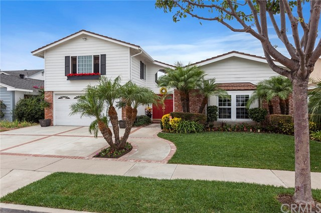 Single Family Home for Sale at 16681 Cedar Circle Fountain Valley, California 92708 United States