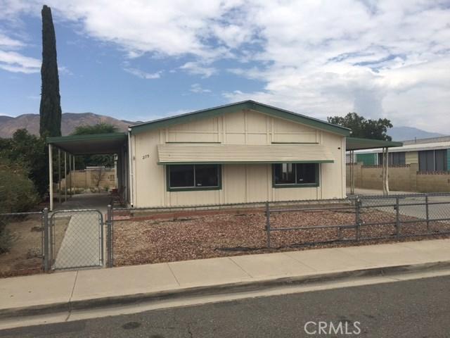 275 N La Paloma Avenue San Jacinto, CA 92582 is listed for sale as MLS Listing IV17178981