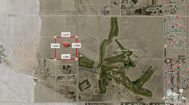 Single Family for Sale at 38 Acres Palm Drive Desert Hot Springs, California 92241 United States