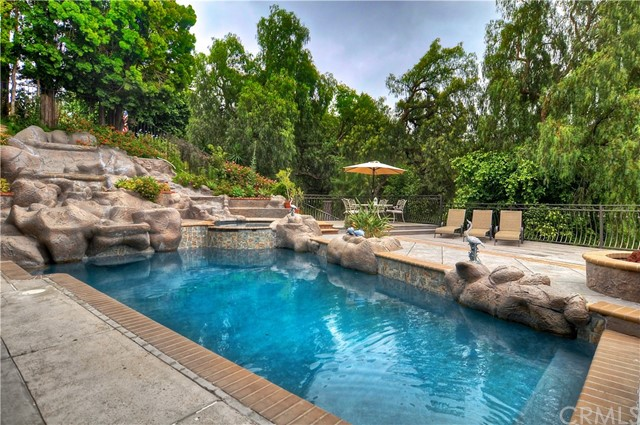 One of Custom Built Anaheim Hills Homes for Sale at 331 S Yorkshire Circle