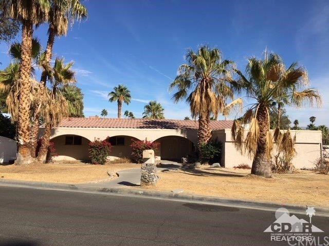 Single Family Home for Sale at 71496 Biskra Road 71496 Biskra Road Rancho Mirage, California 92270 United States
