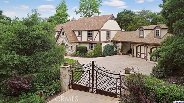 Single Family Home for Sale at 715 Flintridge Avenue La Canada Flintridge, California 91011 United States