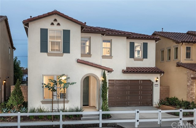 MODEL HOME!!!!!!  Introducing a brand new two story home by Pulte Homes located on a view lot in Yorba Linda. This new home features 4 bedrooms with 3 baths. UPGRADES GALORE!!!  Some upgrades include granite counter tops in the kitchen, multi panel sliding glass door, upgraded cabinets, upgraded appliances, upgraded bathrooms, upgraded flooring, and landscaping.  The two-story home maximizes the potential for modern-day living with its interconnected gathering room, café and sleek kitchen in culinary and pro styles with multipurpose island. This community is a gated with a pool, BBQ and community parks.