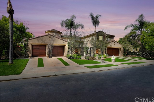 One of Gated Orange Homes for Sale at 2438 N San Miguel Drive