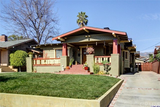 Single Family Home for Sale at 501 Douglas Street Pasadena, California 91104 United States