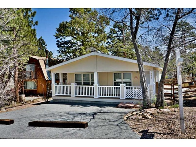 Single Family Home for Sale at 893 SunsetLane Big Bear City, California 92314 United States