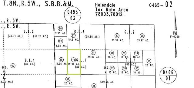 1 M N Wheeler Road Helendale, CA 92342 - MLS #: EV18171162