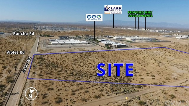 Land for Sale at Aster Road Adelanto, California United States