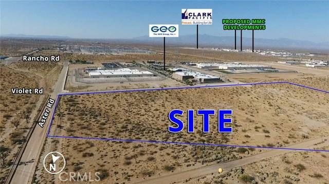 Земля для того Продажа на Aster Road Adelanto, Калифорния Соединенные Штаты