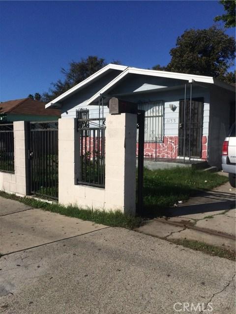 Single Family Home for Sale at 1133 Cubbon Street W Santa Ana, California 92703 United States