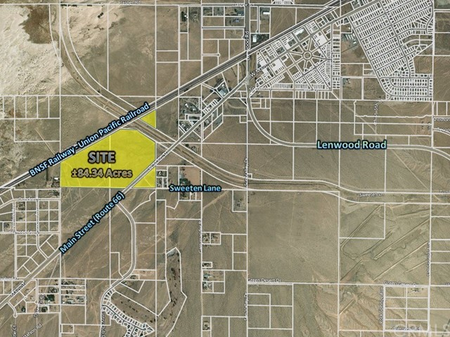 Land for Sale at Main Street Barstow, California United States
