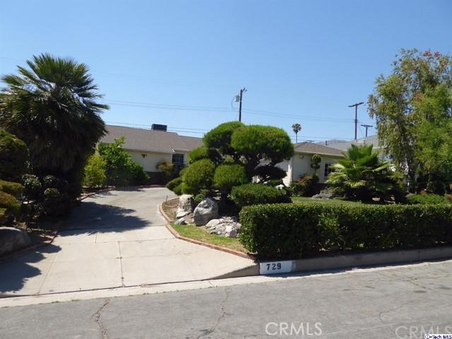 Single Family Home for Rent at 729 Valencia Avenue E Burbank, California 91501 United States
