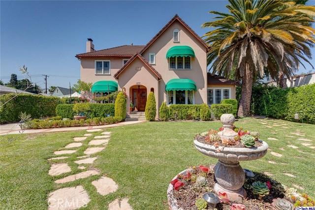 Single Family Home for Sale at 1771 Orange Grove Boulevard E Pasadena, California 91104 United States